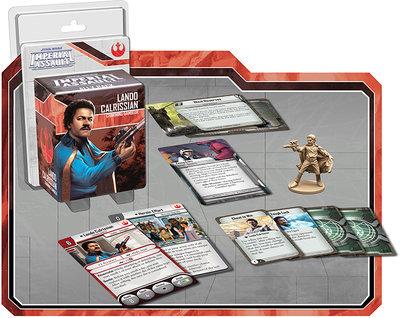 Lando Calrissian Charmanter Glücksspieler (Verbündete) - Star Wars: Imperial Assault - deutsch