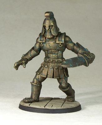 DM32d – Iron Golem - Otherworld Miniatures