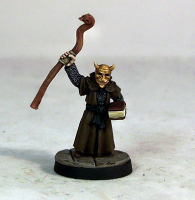ME2d – Evil High Priest I - Otherworld Miniatures