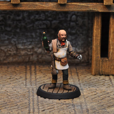NPCT1 – Innkeeper - Otherworld Miniatures