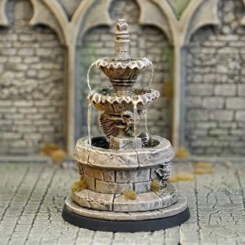 DF2b – Ornamental Fountain - Otherworld Miniatures
