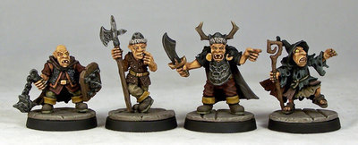 GB4 – Goblin Command (4) - Otherworld Miniatures