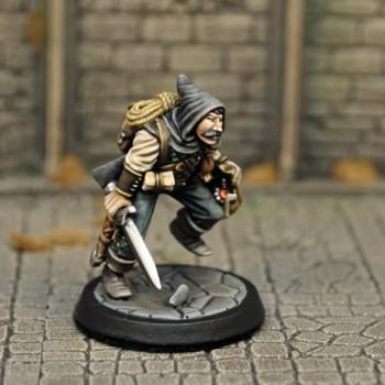 DAH3a – Human Male Thief v1 - Otherworld Miniatures