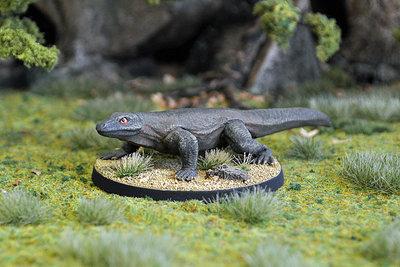 WE4a – Giant Lizard I - Otherworld Miniatures