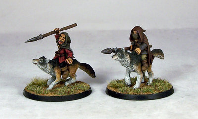 GB5 – Goblin Wolfriders I (2) - Otherworld Miniatures