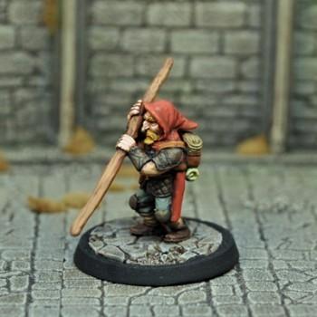 DAD3 – Male Dwarf Thief - Otherworld Miniatures
