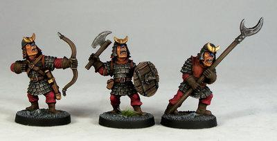 HG3 – Hobgoblin Warriors III - Otherworld Miniatures