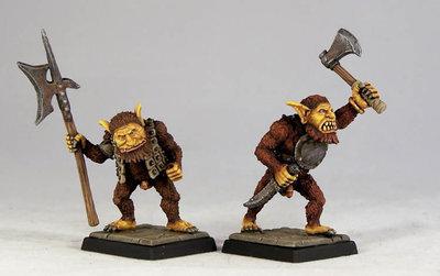 DM1b – Bugbear Warriors II (2) - Otherworld Miniatures