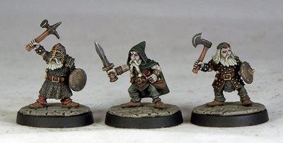 DU1 – Duergar Warriors I (3) - Otherworld Miniatures