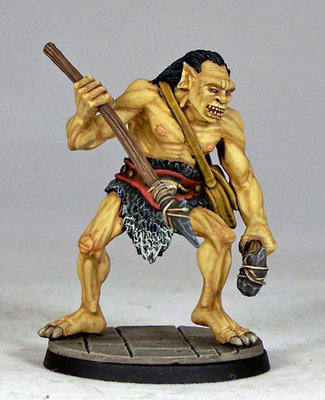 OG1 – Ogre Warrior I - Otherworld Miniatures