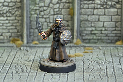 ME2f – Evil High Priest III - Otherworld Miniatures