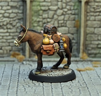 HH1d – Expedition Mule (equipment) v2 - Otherworld Miniatures
