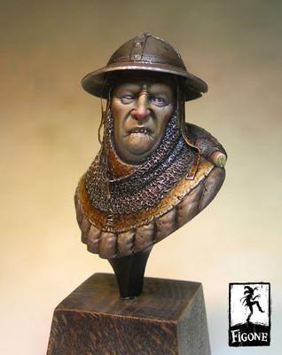 Prosper, avalonian bust (50 mm) - Figone