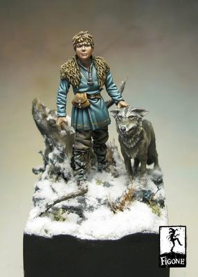 Remussen – Viking kid (54 mm) - Figone