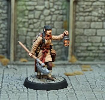 DAH18 – Human Female Monk - Otherworld Miniatures