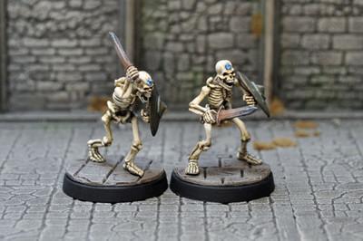 UD1c – Sapphire Skeletons (2) - Otherworld Miniatures
