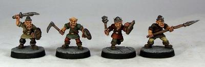 GB1 – Goblin Warriors I (4) - Otherworld Miniatures