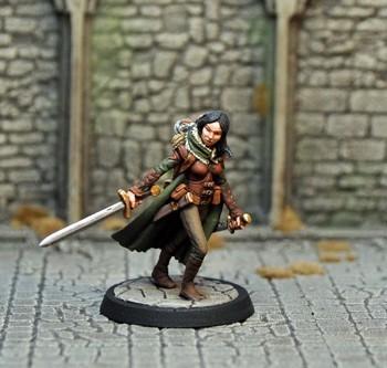 DAH17 – Human Female Ranger - Otherworld Miniatures