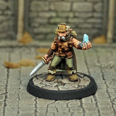 DAD8 – Male Gnome Illusionist/Thief - Otherworld Miniatures