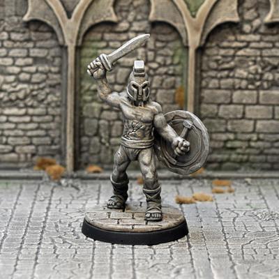 DM30b – Barrow Guardian II - Otherworld Miniatures