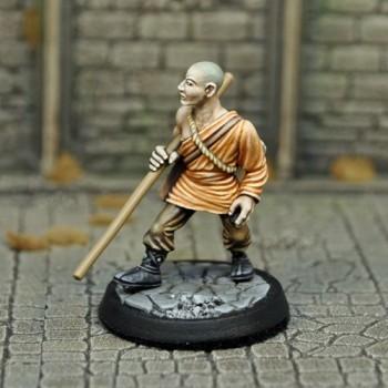 DAH8 – Human Male Monk - Otherworld Miniatures