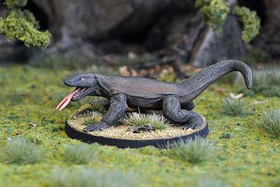 WE4b – Giant Lizard II - Otherworld Miniatures