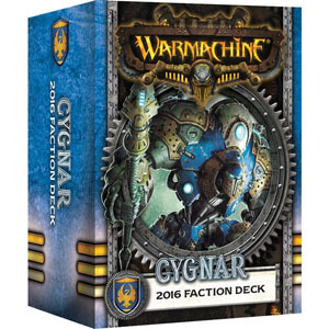 Cygnar 2016 Faction Deck - Kartenset - Fraktionsdeck - Warmachine - Privateer Press
