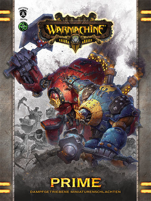 Warmachine: Prime Mk3 (Deutsch) Regelbuch - Privateer Press