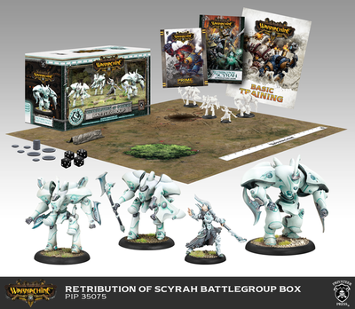 Retribution of Scyrah Battlegroup Starter Box (Plastic) - Warmachine - Privateer Press