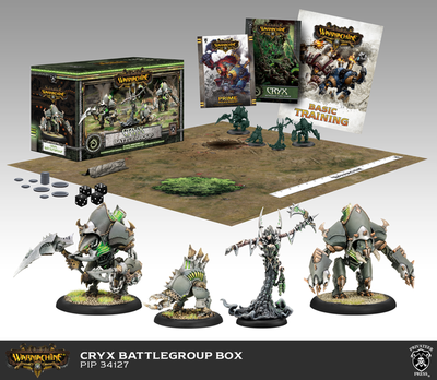 Cryx Battlegroup Starter Box (Plastic) - Warmachine - Privateer Press