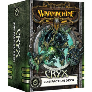 Cryx 2016 Faction Deck - Kartenset - Fraktionsdeck - Warmachine - Privateer Press