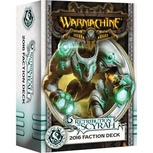 Retribution of Scyrah 2016 Faction Deck - Kartenset - Fraktionsdeck - Warmachine - Privateer Press