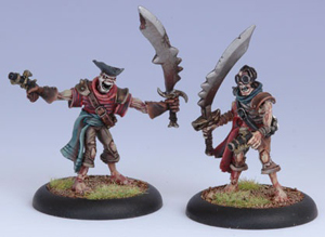 Cryx Revenant Pirate Crew (2) Blister - Units - Warmachine - Privateer Press