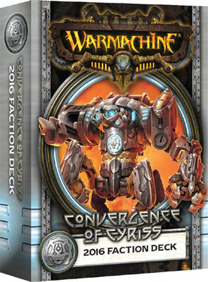 Convergence of Cyriss 2016 Faction Deck - Kartenset - Fraktionsdeck - Warmachine - Privateer Press