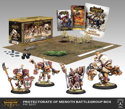 Protectorate of Menoth Battlegroup Starter Box (Plastic) - Warmachine - Privateer Press