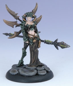 Cryx Warcaster - Warwitch Deneghra Blister - Warcaster - Warmachine - Privateer Press