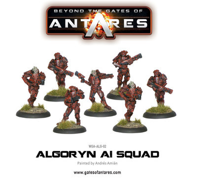 Algoryn AI Squad - Beyond The Gates Of Antares