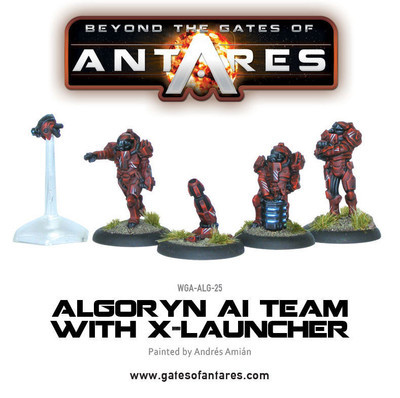 Algoryn AI Team with X-Launcher - Beyond The Gates Of Antares