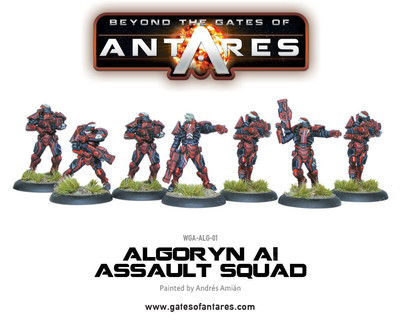Algoryn AI Assault Squad - Beyond The Gates Of Antares