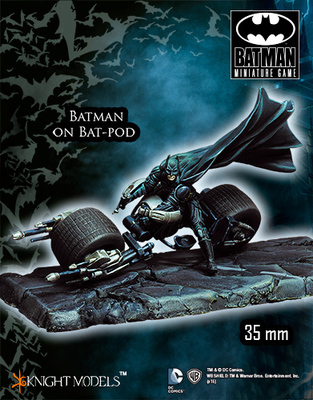 Batman on Batpod - Batman Miniature Game