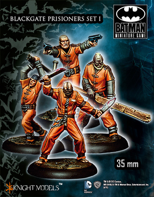 Blackgate Prisoners - Batman Miniature Game