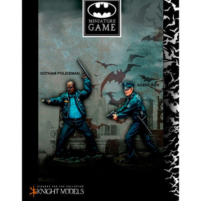 Gotham Police Department Set - Batman Miniature Game