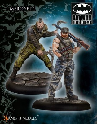 Bane Mercs Set 1 - Batman Miniature Game - Knight Models