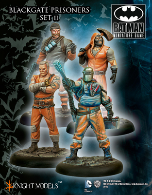 Blackgate Prisoners 2 - Batman Miniature Game