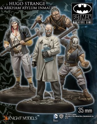 Hugo Strange and Arkham Asylum Inmates - Batman Miniature Game