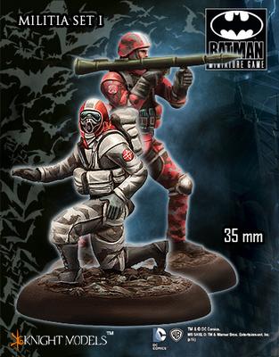 Militia Set 1 - Batman Miniature Game