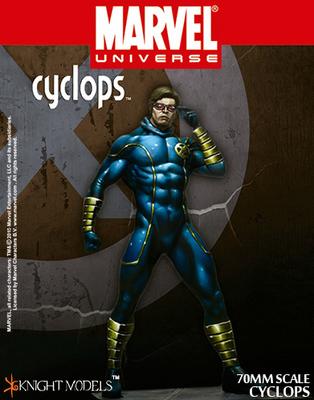Cyclops 70mm - Marvel Knights Miniature