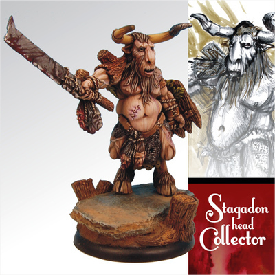 Stagadon head Collector - Scibor Miniatures
