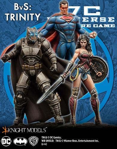 Batman Vs Superman Trinity Starter Set - DC Universe Miniature Game