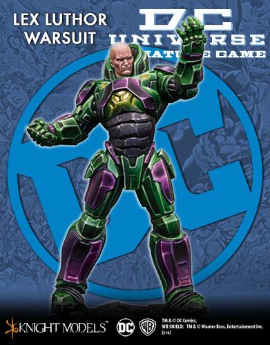 Lex Luthor Warsuit - DC Universe Miniature Game